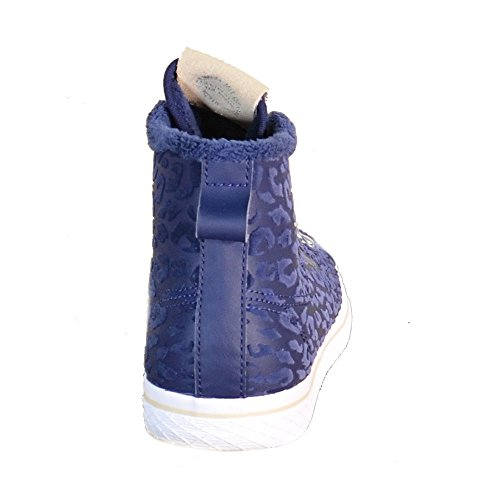 Adidas - Adidas Honey Hook W Scarpe Sportive Alte Donna Blu Pelle S77425, Blau, 41,5