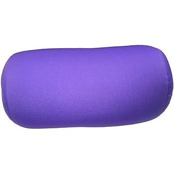 Microbead Cushie Roll Pillow 7 x12 - Purple by Cushie Pillows