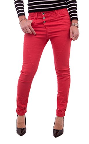 PLEASE JEANS FEMME COULEURS ETE 2018 P78ACV9M07 Rouge