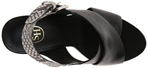 Rebecca Ash Dress Roccia Sandal Women's Black Zwazx1w