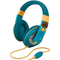 Phineas and Ferb Agent P Over-the-Ear Headphones with Volume Control, DF-M403