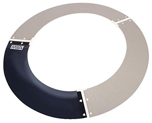 MSA 697410 Plastic Shield Non Slotted product image