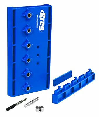 Kreg Tool Company KMA3220 5mm Shelf Pin Jig from Kreg