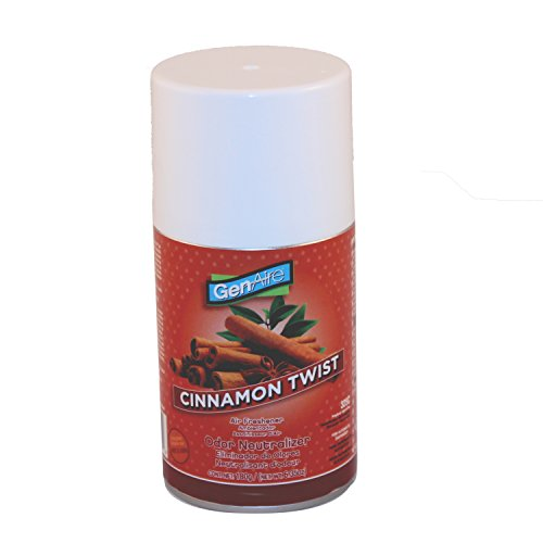 Impact Cinnamon Twist 7oz Air Freshener Refill for Metered Aerosol Dispensers (Case of 12)