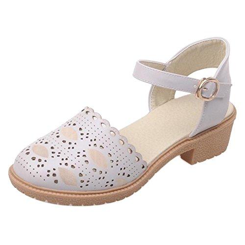 Gray Coolcept Zapatos para Tacon Ancho de Mujer 2 qxgYpB4xw