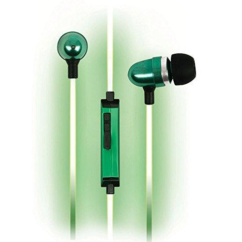 Pilot Electronics EL-1300G Electroluminescent V2 Audio Response Headphones, Green