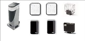 Kit bidireccional para la automatización de puertas correderas con puertas de peso de hasta 400 kg y 6 m de longitud 24 Vdc Código: SLH400BDKCE: Amazon.es: Bricolaje y herramientas