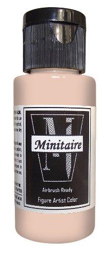 Badger Air-Brush Company 2-Ounce Bottle Miniature Airbrush Ready Water Based Acrylic Paint, Fairytale Flesh