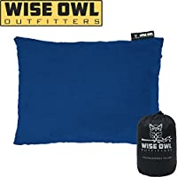 Wise Owl Outfitters Camping Pillow Compressible Foam...