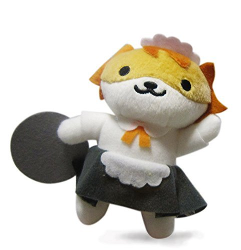 Banpresto Neko Atsume: Kitty Collector: Sassy Fran Plush Doll Key Chain Vol.6