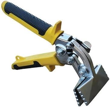 Personas con 7,62 cm cerradoras de apoyo recta de mano, HVAC de Metal repetida herramienta manual, HVAC Seamer de Metal juego de fisureros para ...