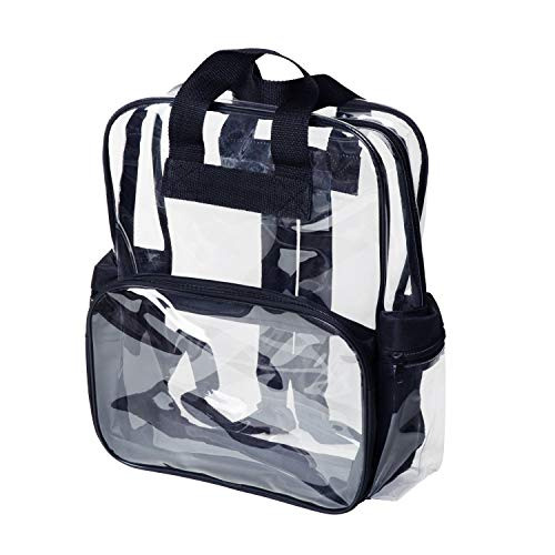 Back To School SMALL (3-10) School Clear Backpack Transparent Security Book Bags See Through Small Medium L #99TH from Peppermint Store