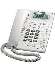 تليفون ارضي بسلك متكامل KX-TS880 من باناسونيك، باللون الابيض