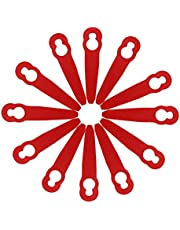 100 Stuks Plastic Grastrimmer Messen Voor Stihl 2-2, Bosmaaierbladen Voor Trimmers Kunststof Messen Voor Grastrimmer