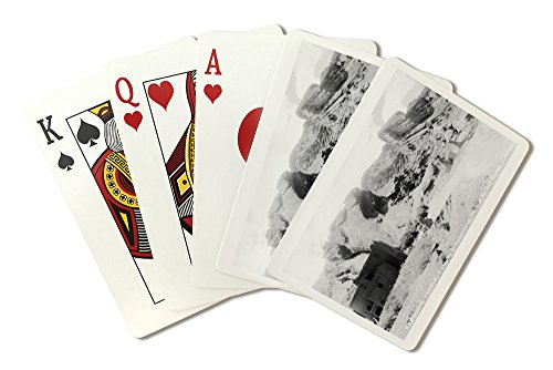 (Rocky Mt National Park, Colorado - Red Rocks Park; View of a Red Rocks Pueblo Photograph (Playing Card Deck - 52 Card Poker Size with Jokers))