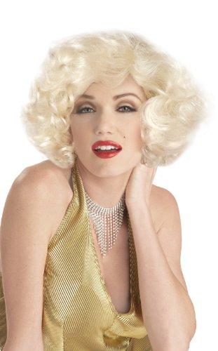 Classic Marilyn Monroe Wig Costume Accessory (Marilyn Monroe Classic Platinum Blonde Wig)