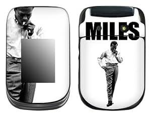 MusicSkins, MS-MDAV40246, Miles Davis - Stance, BlackBerry Style (9670), Skin