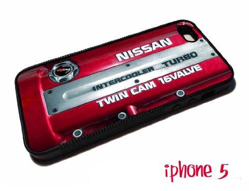 inspired Nissan sr20det JDM Engine Design iphone 5 case Rubber silicone