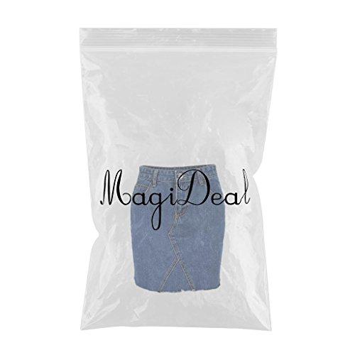 Femme XL Poche Trou Jupe Dchire Blue Haute Vintage Denim MagiDeal Taille Jean S Classique en Et Stretch Denim Crayon Casual 14WwTn5qn7