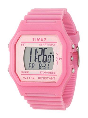 Timex Kids' Oversize Pink Venus Digital Rubber - Watch Timex Digital Kids