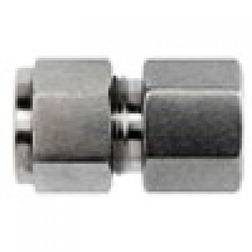 Brennan - Instrumentation Straight Adapter - 1/4 in Instrumentation x 1/8 in Female Pipe, Stainless Steel (6 Units) by brennan