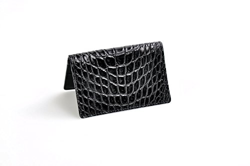 American Alligator Business Card / Credit Card Case (Onyx)
