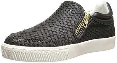 Ash Women's Intense Fashion Sneaker, Black/Black, 35 EU/5 M US