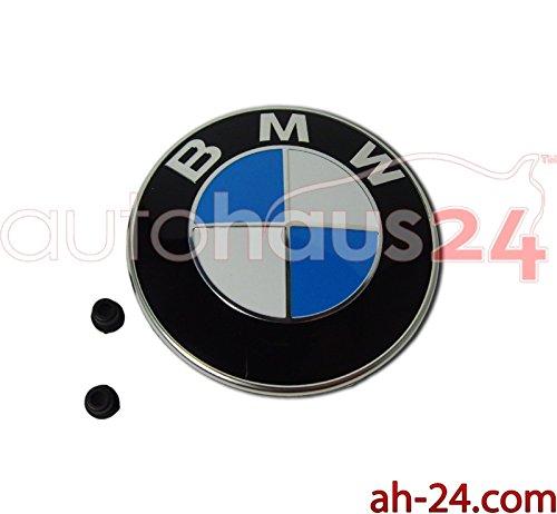 (NEW ORIGINAL BMW HOOD EMBLEM LOGO FRONTHOOD E87 E88 E82 E21 E90 E91 E30 Z1 Z3 Z )