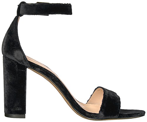 Sandalo Donne Nere ck Di Tacco Col Moda Pelle Bonnie 6zwE8R