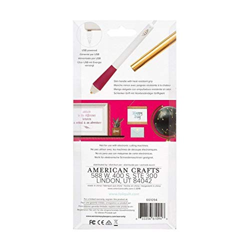 We R Memory Keepers WR661094 Foil Quill Freestyle Pen-Caligraphy Tip