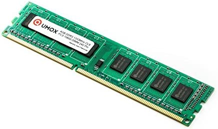 QUMOX Memoria Dimm 8GB(2X 4GB) DDR3 1333 PC3-10600 (240 Pines) para computadora Escritorio PC