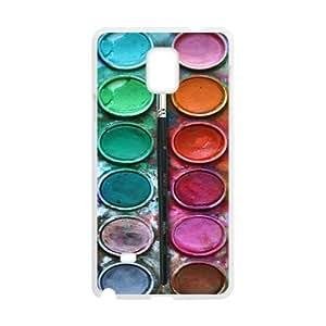 Custom Unique Design Paintbox Samsung Galaxy Note 4 Silicone Case