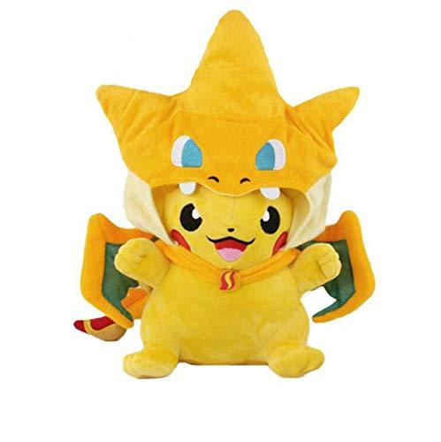 Amazon.com: SHDZKJ Charizard Pikachu - Cojín de peluche ...