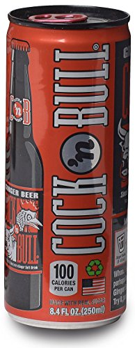 Cock n Bull Ginger Beer Can, 8.4 oz, 24 Count Alcoholic Ginger Beer