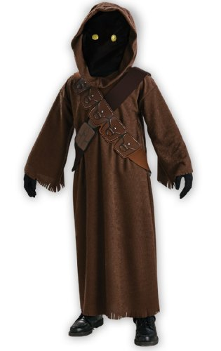 Kid Holloween Costumes (Rubies Costumes Jawa Child Costume Brown Large (12/14))