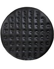 Arebos Thermische Overtrek voor Whirlpools   Ø160cm of 140cm   zwart   Whirlpool Accessoires voor Zwembaden   Opblaasbare Overtrek