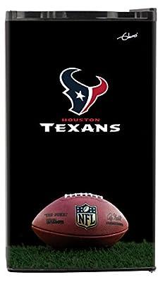NFL Houston Texans Top Refrigerated Beverage Center, 3 cu. ft., Black