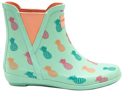 Londen Mist Dames Piccadilly Regenlaars Ananas / Mint