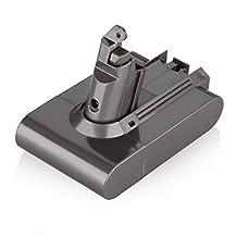 Dtk Replacement Battery For Dyson V6 Li-ion Battery 595 650 770 880 DC58 DC59 DC61 DC62 Animal DC72 Handheld Series 21.6V 2000mAh