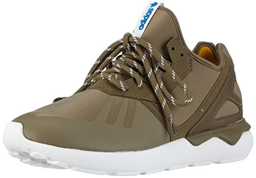 adidas Tubular Runner Herren Sneakers Grün (Dark Cargo F14-St/Dark Cargo F14-St/Bold Gold)