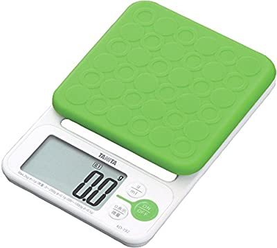 - High accuracy / maximum weighing 2kg of convenient 0.1g unit also bread making] TANITA digital cooking scale Green KD-192-GR (japan import) from Tanita