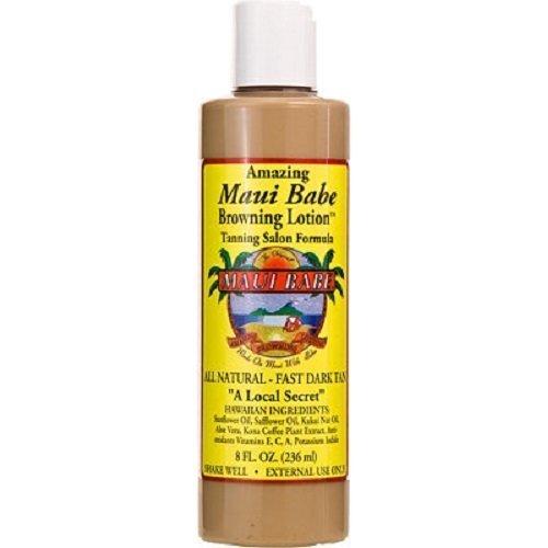 Maui Babe Browning Lotion Tanning Salon Formula (Quantity of 2) by Maui - Malls Shopping Maui