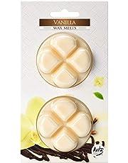 hibuy Doftvax – vanililj doft – rum doft för doftande lampor – 2 x 20 g