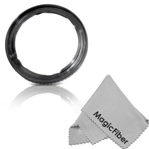 UPC 799422845732, 67MM Lens Adapter Ring for CANON PowerShot SX530 HS, SX520 HS, SX60 HS, SX50 HS, SX40 IS, SX30 IS, SX20 IS, SX10 IS, SX1 IS Cameras (Replaces FA-DC67A) + Magicfiber Microfiber Lens Cleaning Cloth
