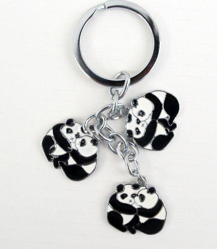 Amazon.com: Metal Panda Llavero – Mejores amigos – Pandas ...