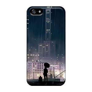 [bHVzfBd6020oTZTi] - New Rain Buildings Protective Iphone 5/5s Classic Hardshell Case