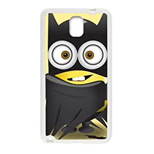 Lovely black cloth Minions Cell Phone Case for Samsung Galaxy Note3