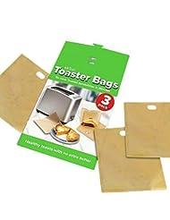 ekSel Non Stick Reusable Toaster Bags (3)