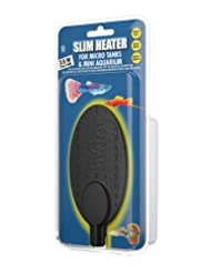 Hydor 7.5w Slim Heater for Bettas and Bowls, 2 to 5 gal
