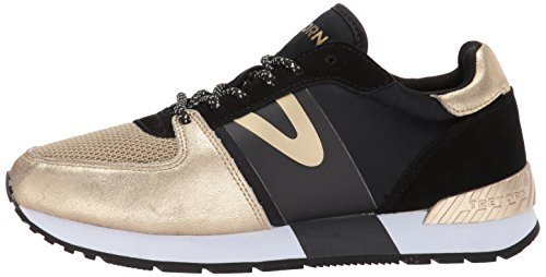 Tretorn gold Us B Black 5 Women's Loyola6 m Sneaker aaqxR4H